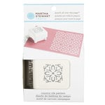 Martha Stewart Crafts - Punch All Over the Page - Craft Punch - Pattern Country Tile