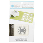 Martha Stewart Crafts - Punch All Over the Page - Craft Punch - Pattern Caning