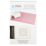 Martha Stewart Crafts - Punch All Over the Page - Craft Punch - Pattern Stained Glass