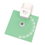 Martha Stewart Crafts - Circle Edge Punch Cartridge - Wavy Stripe
