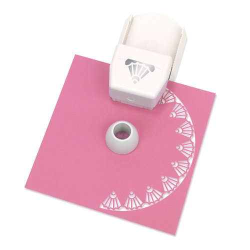 Martha Stewart Crafts - Circle Edge Punch Cartridge - Deco Shell