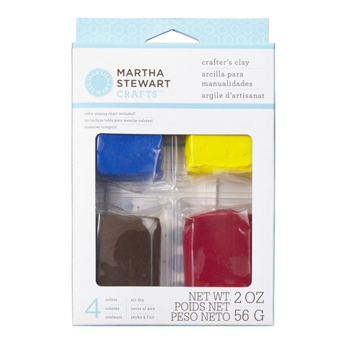 Martha Stewart Crafts - Crafter's Clay Collection - Basic Color Clay Set