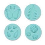 Martha Stewart Crafts - Crafter's Clay Collection - Silicone Mold - Flower Garden