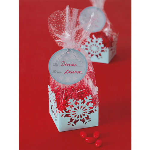 Martha stewart crafts christmas cellophane treat bags