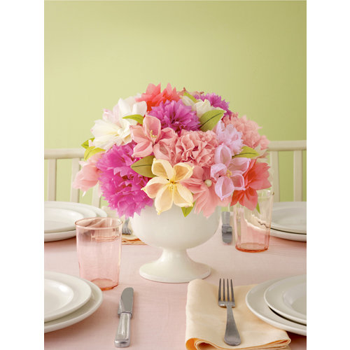 Martha Stewart Crafts - Vintage Girl Collection - Tissue Paper Flowers
