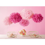 Martha Stewart Crafts - Vintage Girl Collection - Pom Poms - Pink