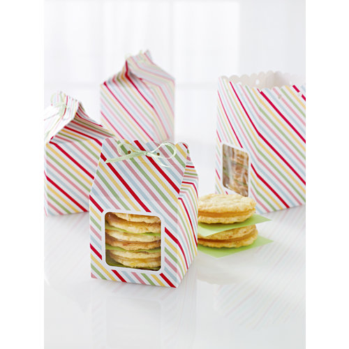 Martha Stewart Crafts - Modern Festive Collection - Scalloped Treat Boxes