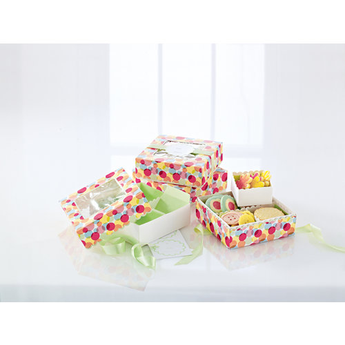 Martha Stewart Crafts - Modern Festive Collection - Treat Boxes with Compartments