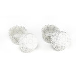 Martha Stewart Crafts - Doily Lace Collection - Mini Cupcake Treat Wrappers