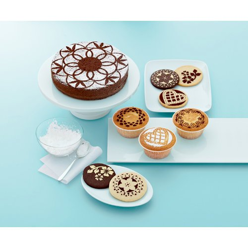 Martha Stewart Crafts - Doily Lace Collection - Cupcake and Cake Stencils