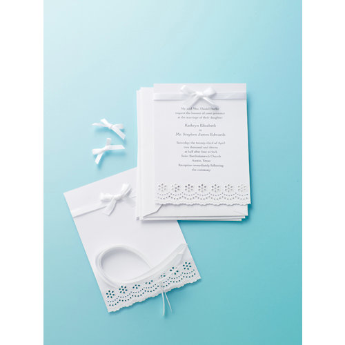 Martha Stewart Crafts - Doily Lace Collection - Party Invitations