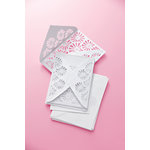 Martha Stewart Crafts - Vintage Girl Collection - Party Invitations