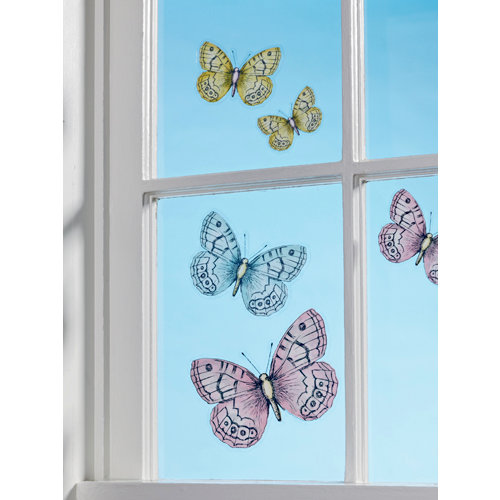 Martha Stewart Crafts - Vintage Girl Collection - Window Clings