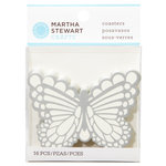 Martha Stewart Crafts - Doily Lace Collection - Coasters - Butterfly