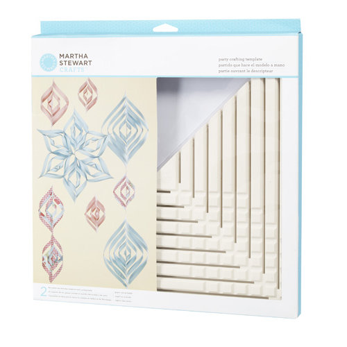 Martha Stewart Crafts - Party Crafting Templates - Ornament - Triangle - Large