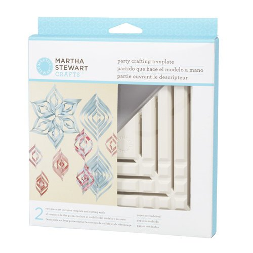 Martha Stewart Crafts - Party Crafting Templates - Ornament - Triangle - Small