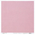 Martha Stewart Crafts - Vintage Girl Collection - 12 x 12 Double Sided Paper with Glitter Accents - Strawberries