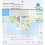 Martha Stewart Crafts - 12 x 12 Designer Paper Pad - Baby Boy