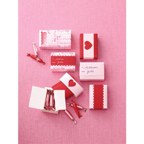 Martha Stewart Crafts - Valentine's Day Collection - Match Box - Mini