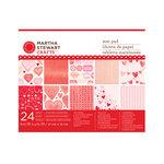 Martha Stewart Crafts - Valentine Collection - Mat Paper Pad