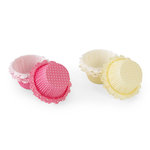 Martha Stewart Crafts - Spring Seasonal Collection - Baking Cups - Pastel Dotted