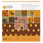 Martha Stewart Crafts - Classic Halloween Collection - 12 x 12 Designer Paper Pad