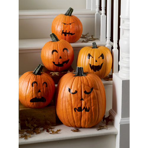 Martha Stewart Crafts - Classic Halloween Collection - Pumpkin Transfers