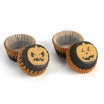 Martha Stewart Crafts - Classic Halloween Collection - Mini Cupcake Treat Wrappers