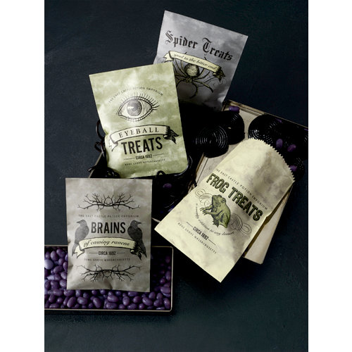 Martha Stewart Crafts - Elegant Witch Collection - Halloween - Wax Bags
