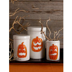 Martha Stewart Crafts - Halloween - Gel Clings - Pumpkin