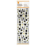 Martha Stewart Crafts - Elegant Witch Collection - Halloween - Foam Stickers - Icons