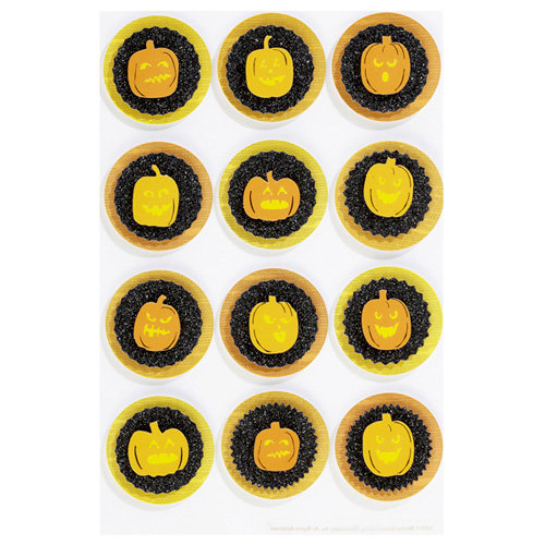 Martha Stewart Crafts - Halloween - Layered Stickers - Pumpkin