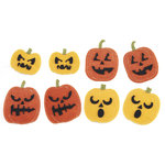Martha Stewart Crafts - Halloween - Felt Stickers - Pumpkins