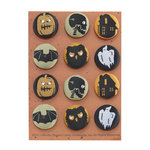 Martha Stewart Crafts - Classic Halloween Collection - Fabric Brads