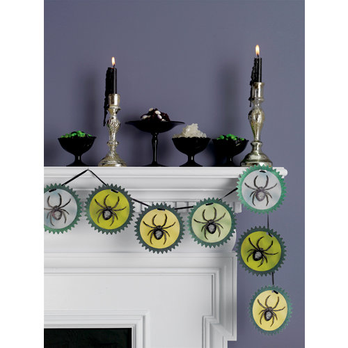 Martha Stewart Crafts - Elegant Witch Collection - Halloween - Garland - Spider