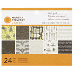 Martha Stewart Crafts - Elegant Witch Collection - Halloween - Mat Paper Pad