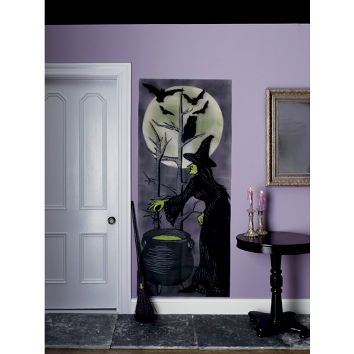 Martha Stewart Crafts - Elegant Witch Collection - Halloween - Hanging Wall Decoration - Scene Setter