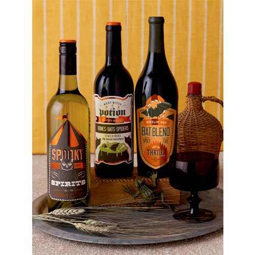 Martha Stewart Crafts - Halloween Collection - Beverage Labels - Carnival