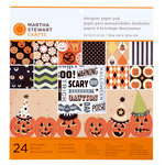 Martha Stewart Crafts - Halloween Collection - 12 x 12 Designer Paper Pad - Carnival