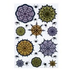 Martha Stewart Crafts - Halloween Collection - Stickers - Lace Spiderweb