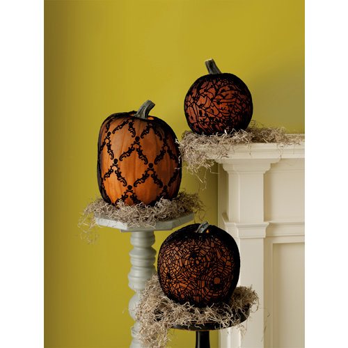Martha Stewart Crafts - Halloween Collection - Pumpkin Sleeves - Haunted