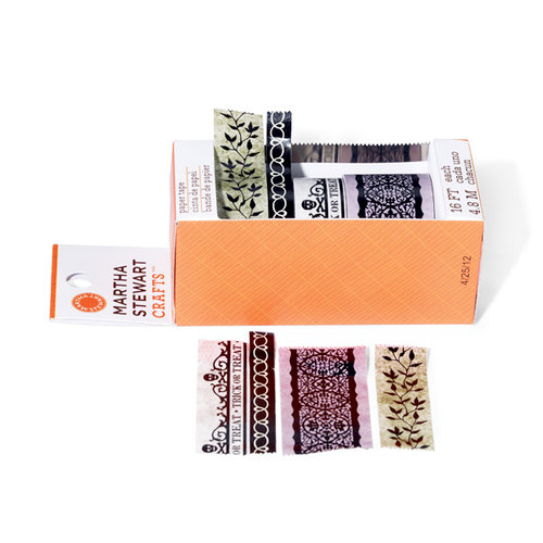 Martha Stewart Crafts - Halloween Collection - Paper Tape - Haunted