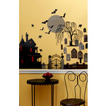 Martha Stewart Crafts - Animal Masquerade Collection - Halloween - Haunted House Wall Clings