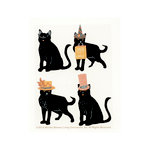 Martha Stewart Crafts - Animal Masquerade Collection - Halloween - 3 Dimensional Stickers with Glitter Accents