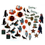 Martha Stewart Crafts - Animal Masquerade Collection - Halloween - Die Cut Acetate Pieces