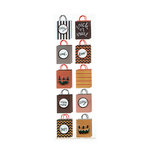 Martha Stewart Crafts - Animal Masquerade Collection - Halloween - 3 Dimensional Stickers with Glitter Accents - Bags
