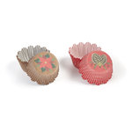 Martha Stewart Crafts - Woodland Collection - Christmas - Cupcake Treat Wrappers