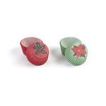 Martha Stewart Crafts - Woodland Collection - Christmas - Mini Cupcake Treat Wrappers