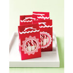 Martha Stewart Crafts - Snowflace Collection - Christmas - Die Cut Treat Bags