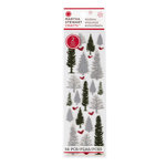 Martha Stewart Crafts - Snowflace Collection - Christmas - Frosted Stickers - Greenery